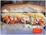 98. roger's burger - o gigante (serve de 2 a 3 pessoas)