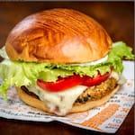 Black burger vegetariano -de lentilha