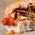 2 monsters hotdog + 2 hotdogs doce