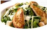 Salada Caesar com tiras de filé de frango (Inteira)