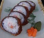 Hot roll de salmão