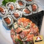 Combo temaki + sushi