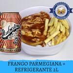Filé Frango a Parmegiana G + Refrigerante 1 Litro