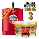 Chopp brahma 50 litros- ganhe 3 calderetas históricas.