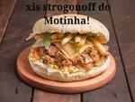 Xis strogonoff (carne ou frango)