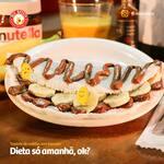 Tapioca de Nutella com banana