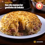 Rostie de calabresa com queijo