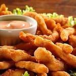 1 poçao de sardinha  com batata frita