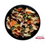 Yakissoba de frango com verdura