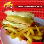 200 - Cheese dog maionese e fritas