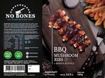 Bbq mushroom ribs congelada
