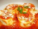 Rondeli de queijo e presunto