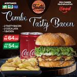 Combo bacon: 2 tasty bacon/ 2 cocas /1 batata individual