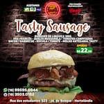 N 10-tasty sausage ( burger de linguiça 180g)