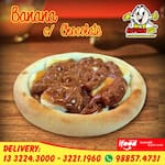 ESFIHA DOCE AB: BANANA C/ CHOCOLATE