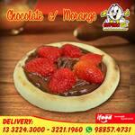 ESFIHA DOCE AB: CHOCOLATE C/ MORANGO