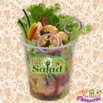 Full salad tropical