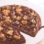 Pizza de Brownie - Média (20 cm)