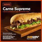 Novo Sub Carne Supreme 15cm