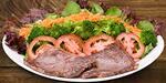 6639 - salada com alcatra