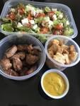 Salada Fit carne de sol