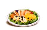 Salada Tropical Frango