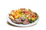 Salada executiva essencial com filé
