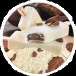 paleta leitinho com trufa
