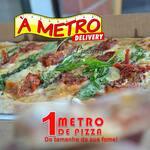 Compre 2 pizzas de 50cm (todos os sabores) e ganhe 1 de 25cm doce (todos os sabores).