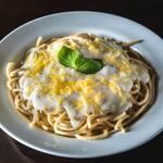 Spaghetti alla panna (porção individual)