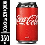 Coca Cola ZERO AÇUCAR Lata 350 ml