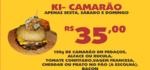 Ki-camarão grelhado