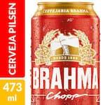 CERVEJA BRAHMA 473 ML