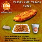 Pastel 100% vegano combo