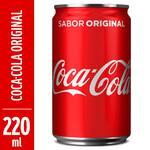 Refrigerante Coca Cola-lata 220ml