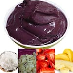 Açaí - salada de frutas