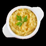 Purê de batata doce com gengibre e mel