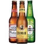 Cerveja long neck premium 355ml