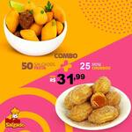 50 unid mini festa 20gr + 25 churros