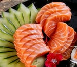 Sashimi salmão (15 peças)