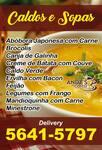 Sopas Caseiras