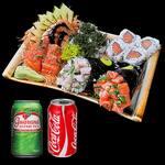 Promoção combo temaki ii + 2 bebidas