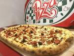 Super pizza calabresa 32 pedaços + borda + refri