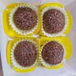 Caixa brigadeiros gourmet c/ 4 doces 20 gr cada um