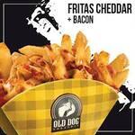 Fritas Cheddar + Bacon