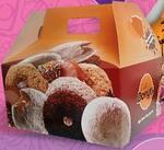 Caixa com 6 donuts