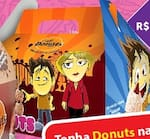 Caixa com 12 mini donuts
