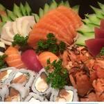 Combo sushi / sashimi 30 peças