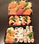 Combo sushi / sashimi 150 peças