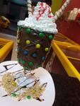 Taça felicidade com sorvete